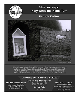 Irish Journeys: Holy Wells and Home Turf flyer